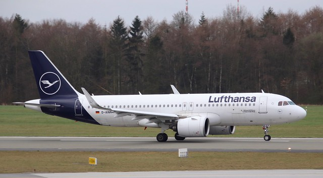 Lufthansa, D-AINR, MSN 8725,Airbus A320-271N,02.04.2021,HAM-EDDH, Hamburg