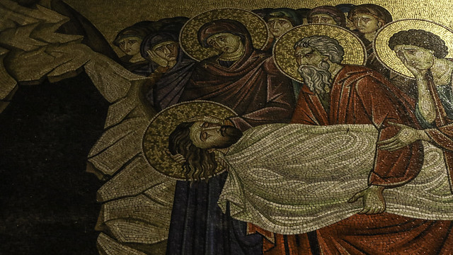 14th Station - Jesus is Laid in the Tomb