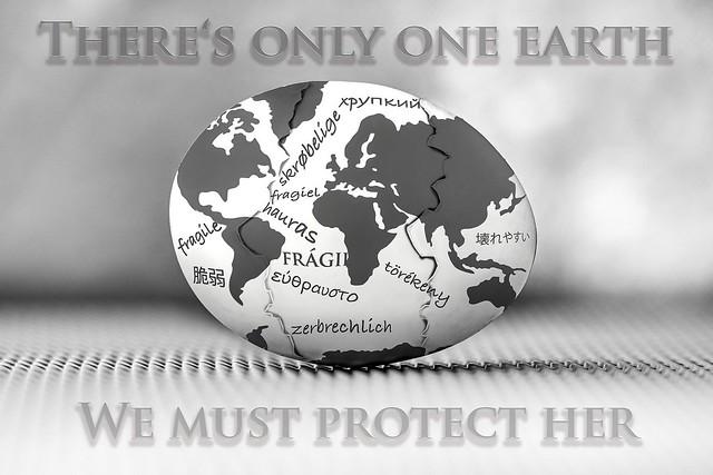 There's only one earth - Wir haben nur eine Erde
