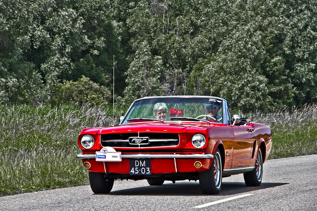Ford Mustang Convertible 1964 (4160)