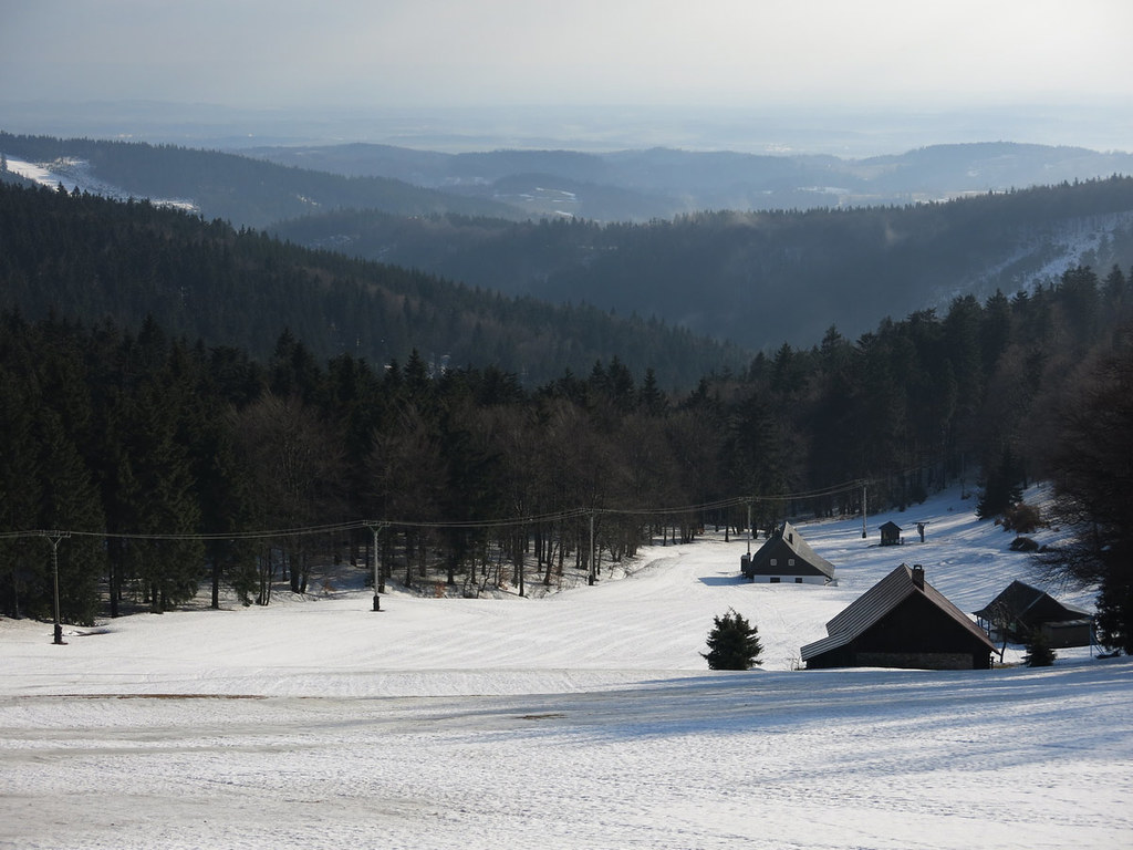 Masarykova chata - Šerlich - Deštné Orlické hory Česko foto 14