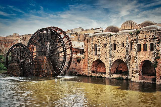 Die Wasserräder von Hama (Syrien 2011)
