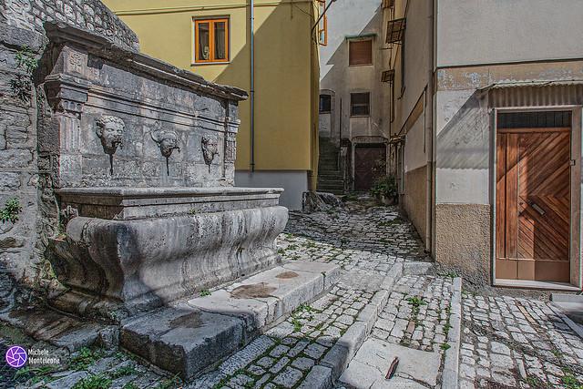 Sepino (Cb): La fontana della