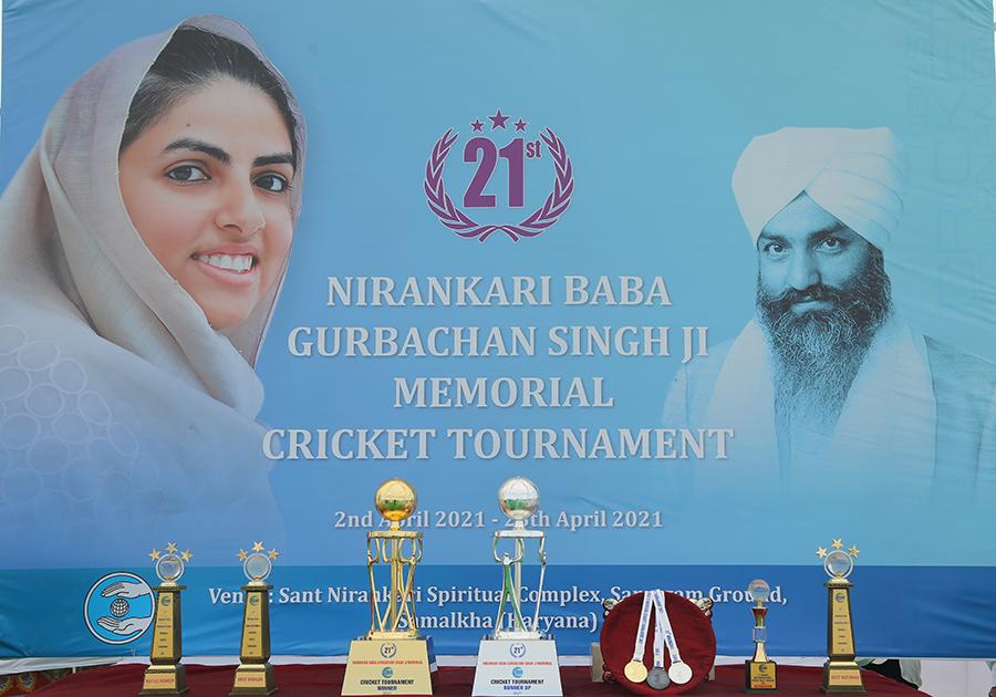 April 02, 2021: Nirankari Baba Gurbachan Singh Memorial Cricket Tournament