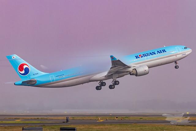 HL7585 KL A333 34L YSSY-3454