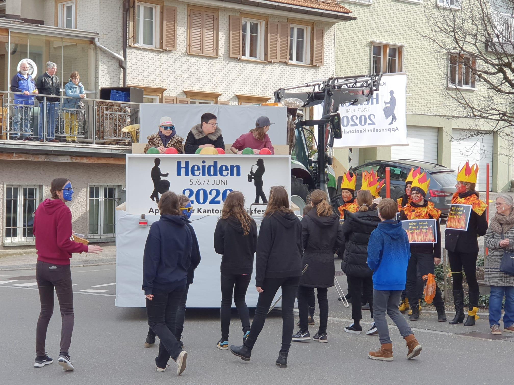 Fasnachtsumzug Oberegg, 23.02.2020