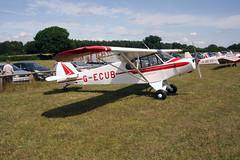 G-ECUB Piper PA-18-150 [18-6279] Popham 270714