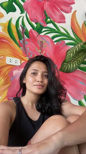 Me! at Corner Cafe Siargao