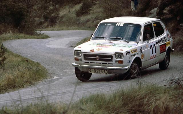 SEAT 127 Pujada a La Trona 1979