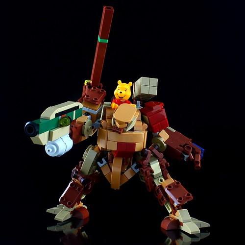 LEGO 21326 Winnie the Pooh Alternative Build Mech