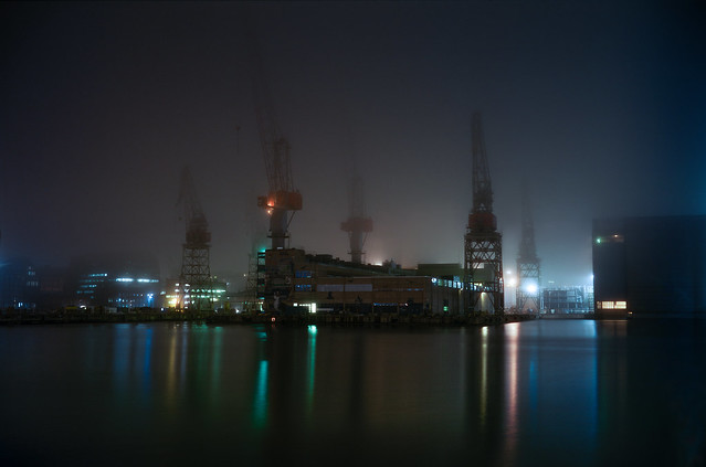 Foggy shipyards #2
