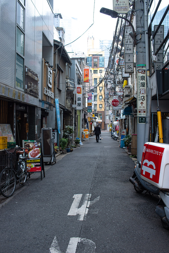 Evening Shimbashi, Tokyo