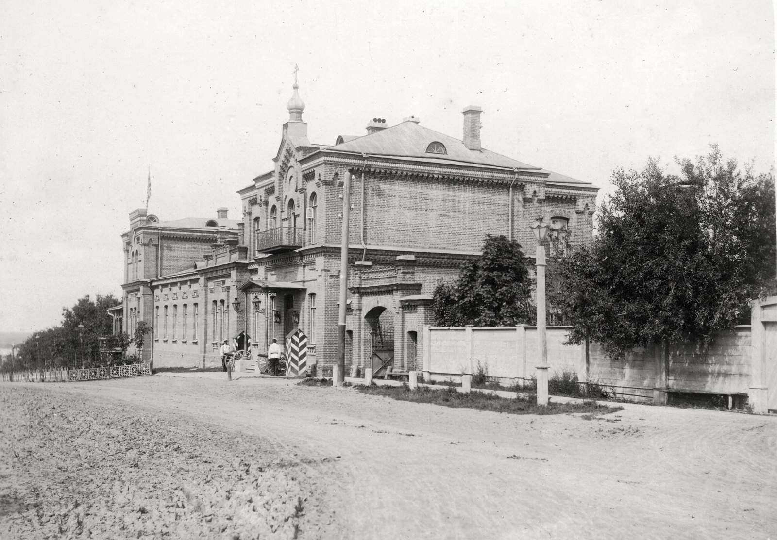 11. Генерал-губернаторский дом. Комплекс зданий объединенных в единое целое. Лето 1904
