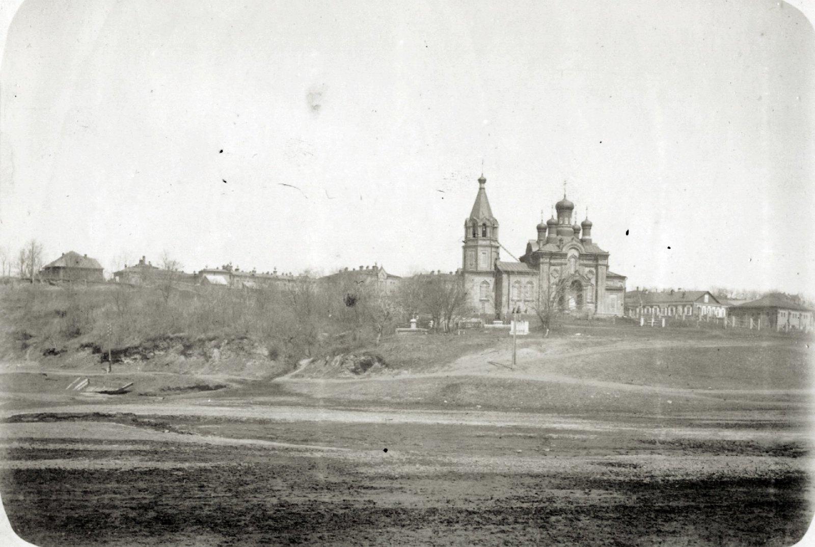 07. Иннокентьевская церковь. Снимок сделан со стороны р.Чердымовки