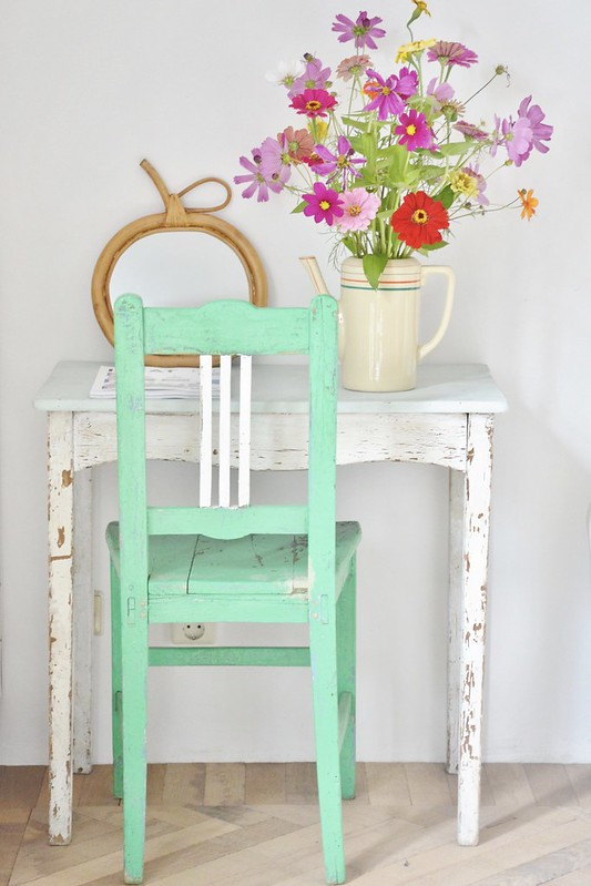 vintage scandinavian chair