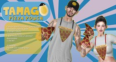 [TAMAGO] Pizza Pouch @ Mainstore