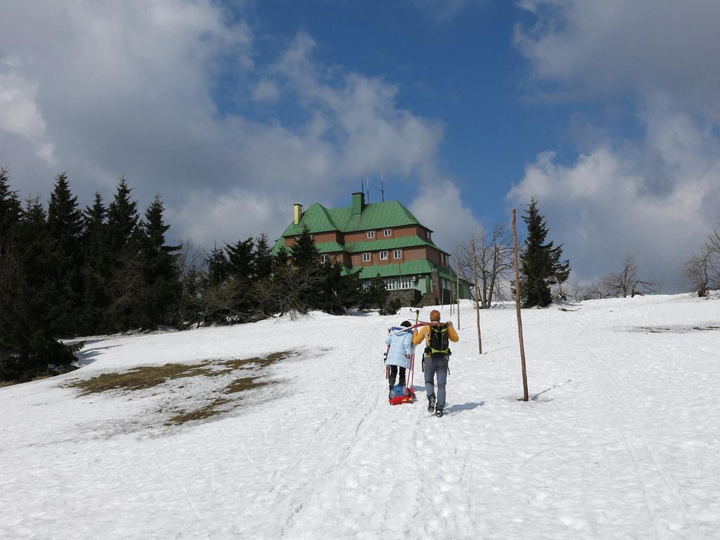 Masarykova chata - Šerlich - Deštné Orlické hory Česko foto 05