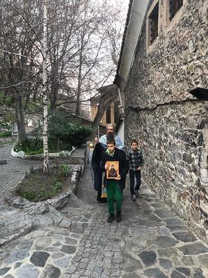 2 април 2021 г. - Малко повечерие с Богородичен канон и акатист, III статия