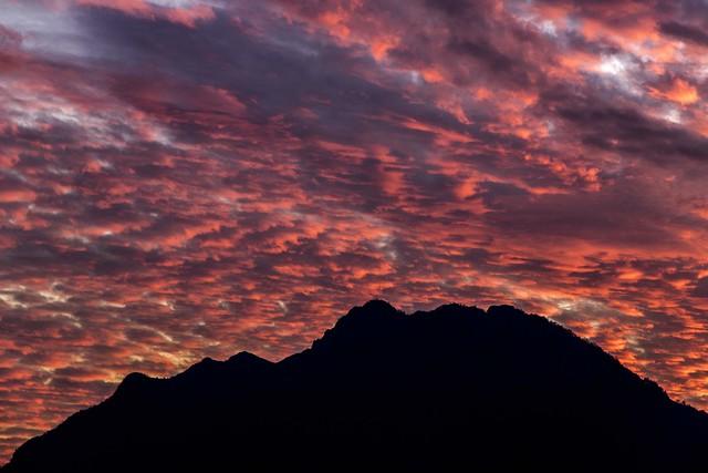 Monte Barro - November sunset