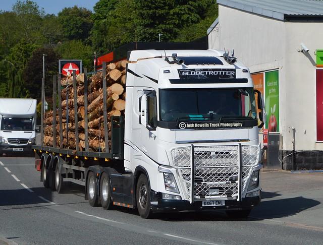 KPT Relief Services DX67 ENL At Llanfair Caereinion