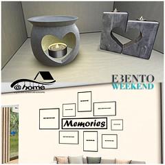 @home - eBento Weekend 3 - 4 April
