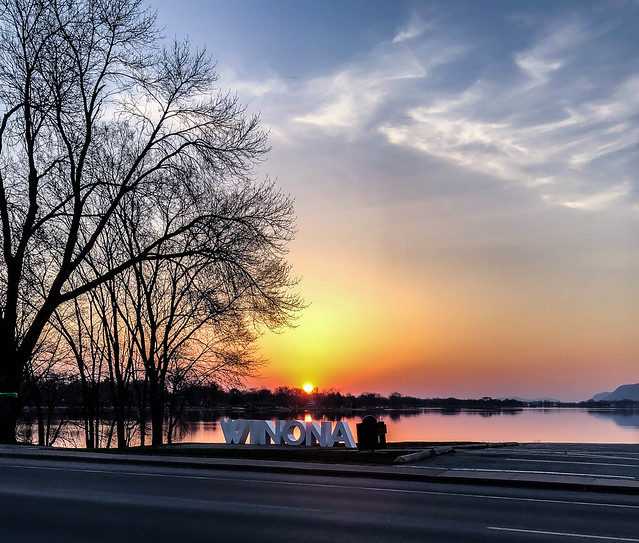 Sunrise in Winona