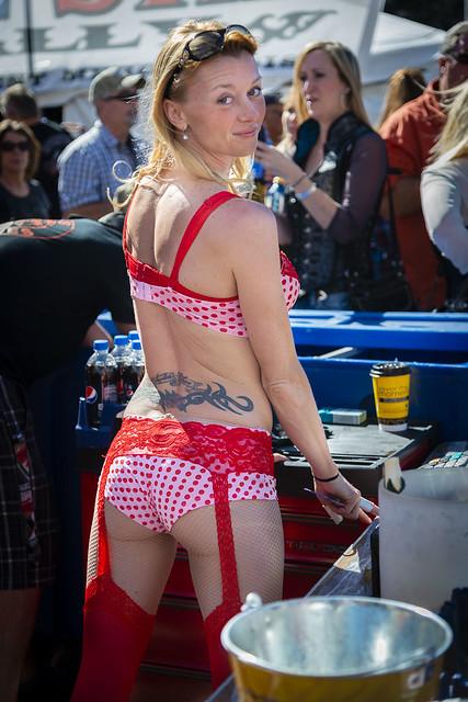 Biker Rally Bartender