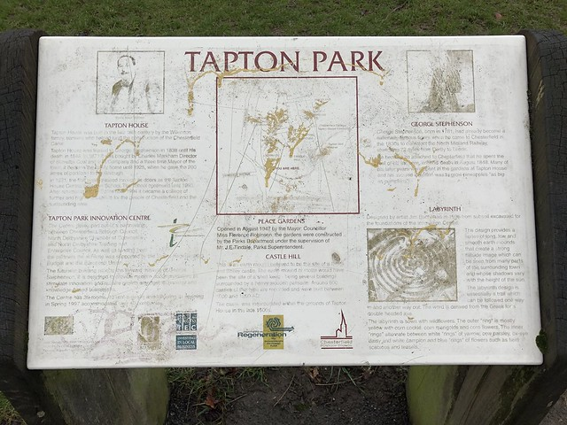 Tapton Park, Chesterfield 2021