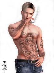 Judge Full Body Tattoo