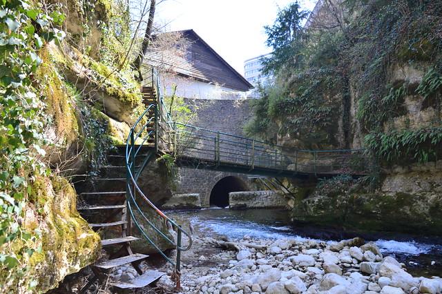 Seyon-Schlucht in Neuenburg-Serrière