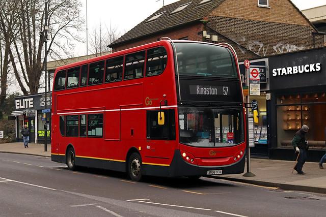 Route 57, Go Ahead London, EN10, SN58CEX
