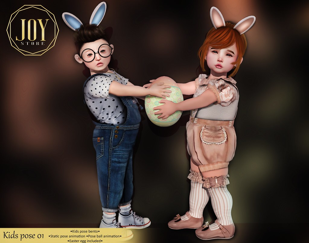 JOY – Kids pose 01