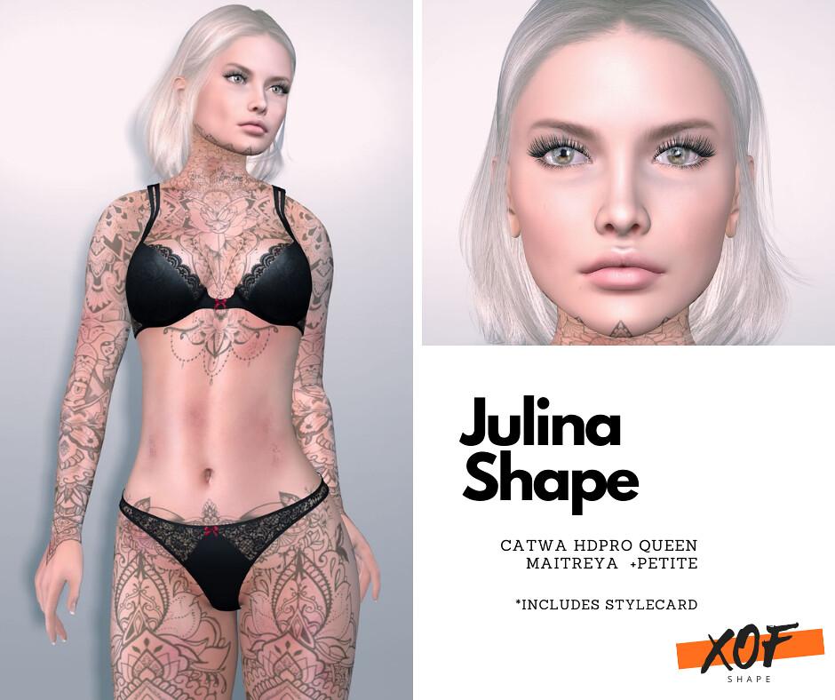 XOF – Jolina  Shape