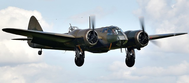 RAF Bristol Blenheim Bomber L6739 G-BPIV