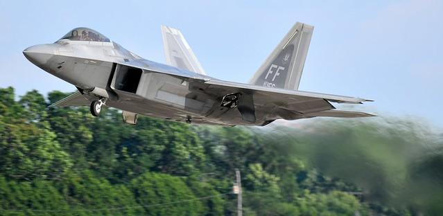 Lockheed Martin F-22 Raptor  Jet USAF FF AF-08 156