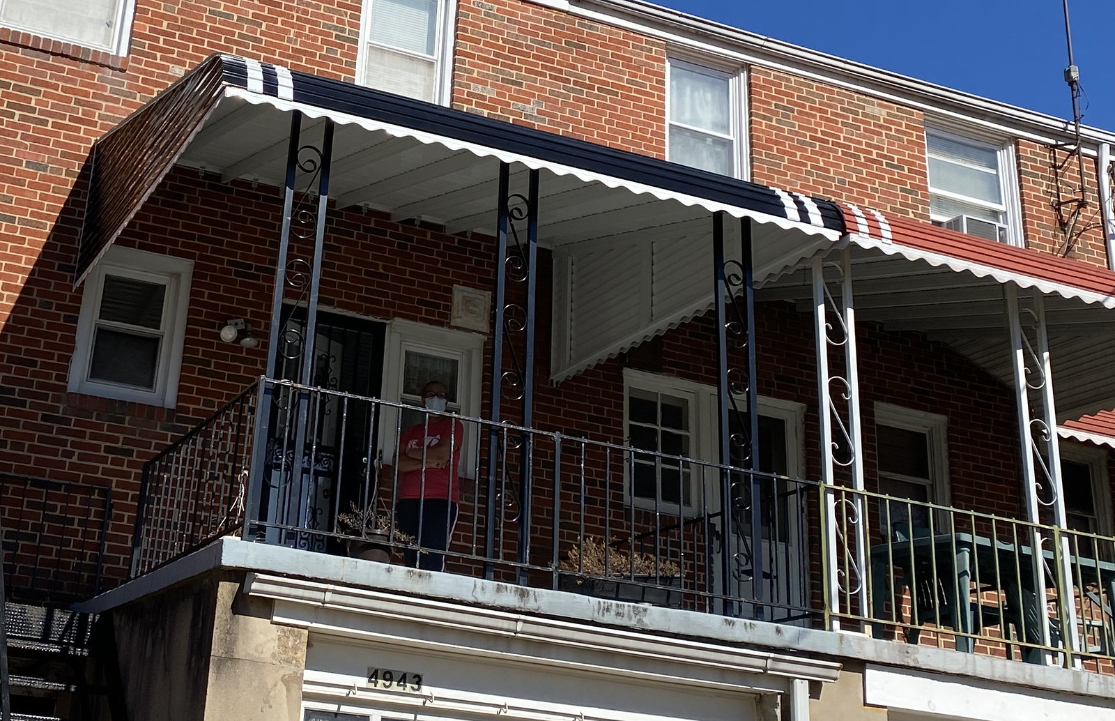 Stepdown Awning Porch -Rafters