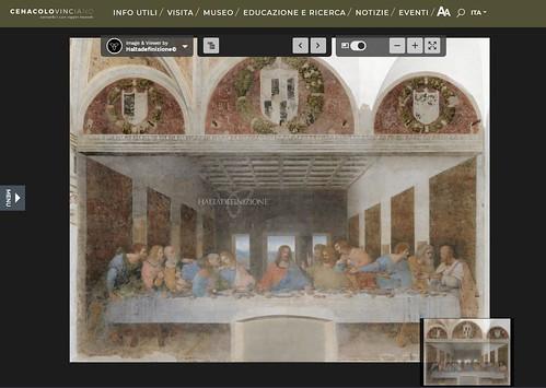 ROMA ARCHEOLOGICA & RESTAURO ARCHITETTURA 2021. Pasqua in zona rossa. Ma l'Ultima Cena di Leonardo è fruibile online in alta definizione. Artribune & CENACOLO VINCIANO / Milano (03/04/2021).