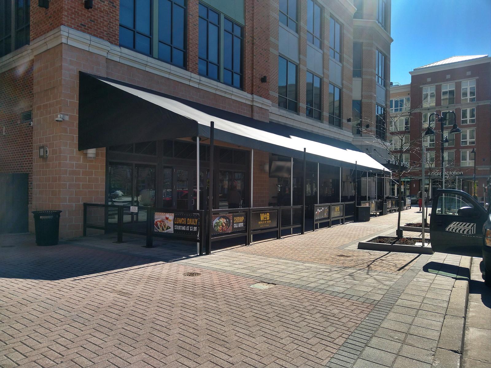 Sidewalk-Restaurant Awning Baltimore-Hoffman
