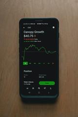 Robinhood Trading - Canopy Growth