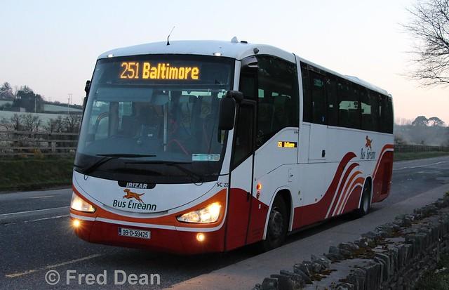 Bus Éireann SC275 (08D59425).