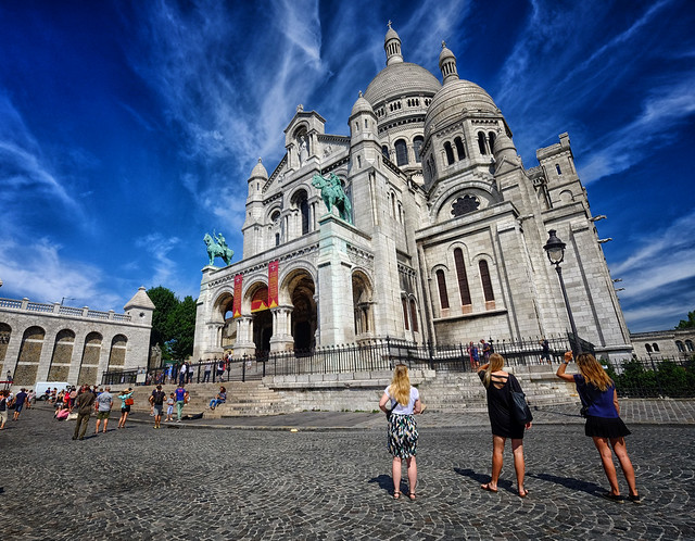 Sacré-Cœur Basilica in Paris, France