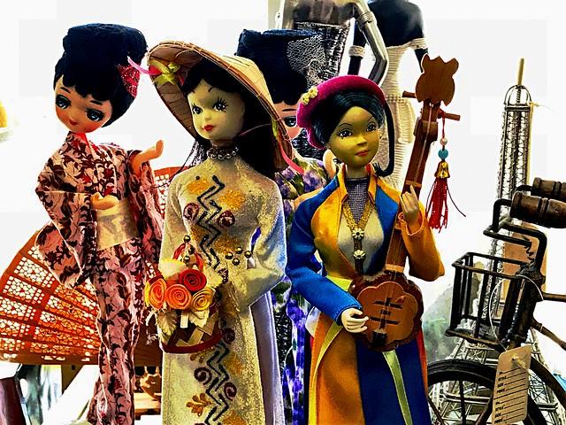 Asian dolls