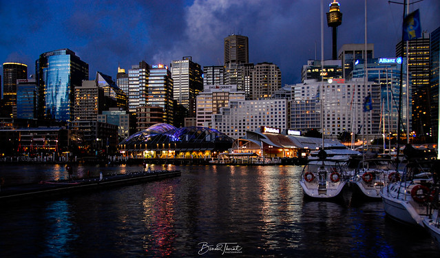 Darling Harbour in the year 2007 :-)