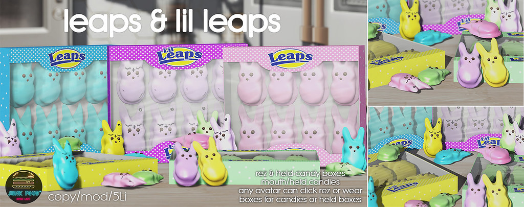 Junk Food – Leaps & Lil Leaps Ad
