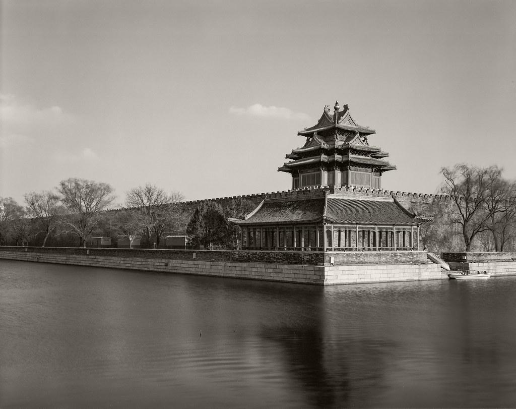 Corner Tower Forbidden City Fomapan 100 - 20-Mar-2021