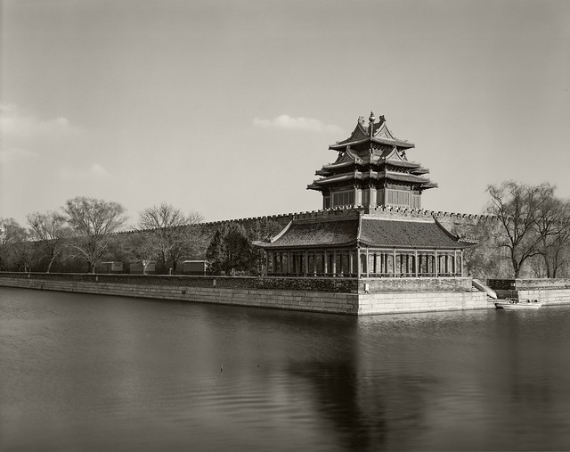 Corner Tower Forbidden City Fomapan 100 - 20-Mar-2021