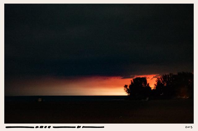 Martin Loeffler, 2013, Lake Ontario — Heat Lightning
