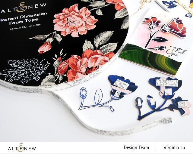 Altenew-Foam Tape-Whimsical Garden Layering Die Set -001