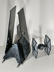 Krennic's Shuttle plus FO tie fighter