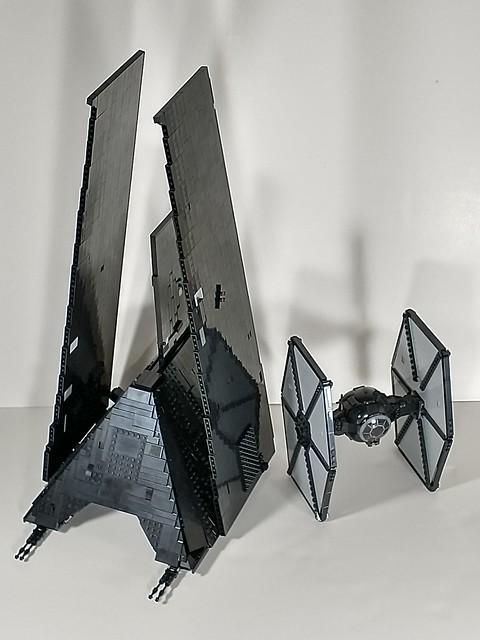 Krennic's Shuttle plus FO tie fighter